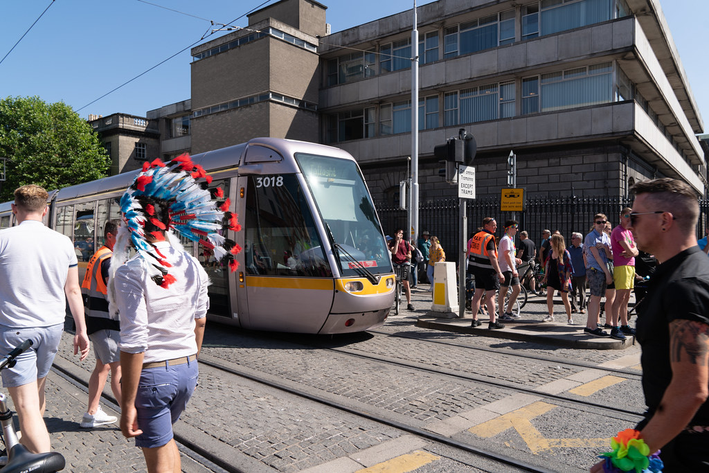 ABOUT SIXTY THOUSAND TOOK PART IN THE DUBLIN LGBTI+ PARADE TODAY[ SATURDAY 30 JUNE 2018] X-100063