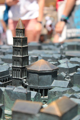 Tiny Tower (benjamin.t.kemp) Tags: tower small model metal macro macroaddicts city bokeh