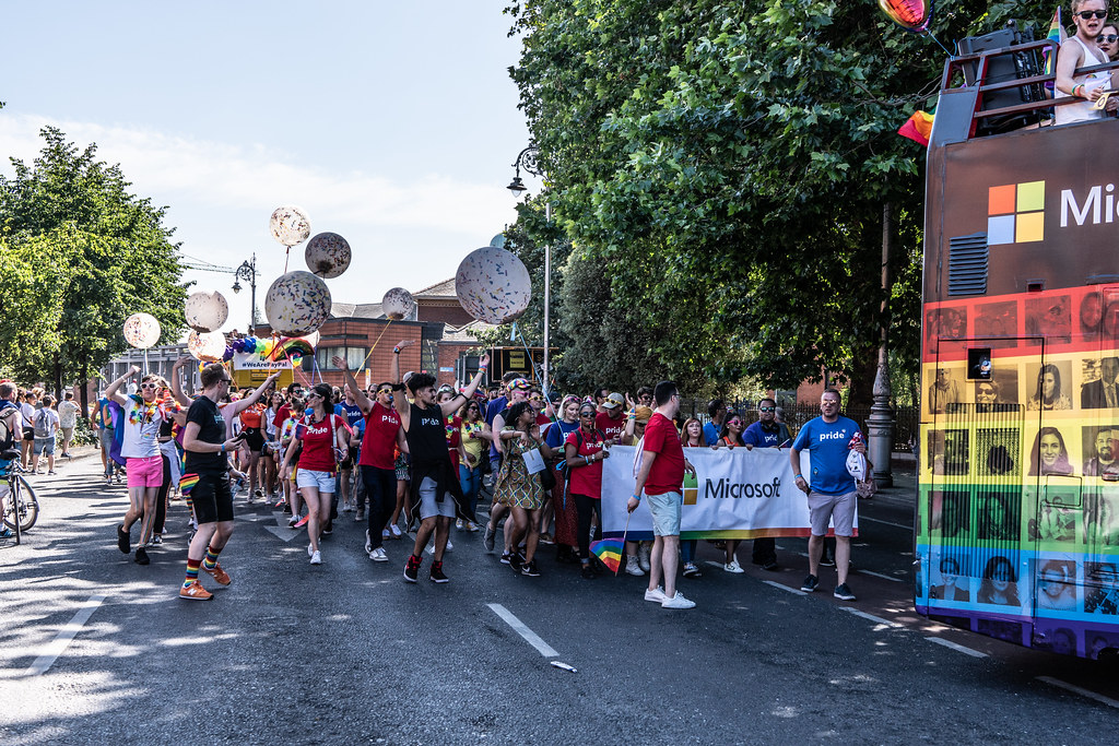 ABOUT SIXTY THOUSAND TOOK PART IN THE DUBLIN LGBTI+ PARADE TODAY[ SATURDAY 30 JUNE 2018] X-100122