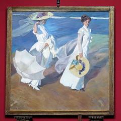 SOROLLA - PASEO A ORILLAS DEL MAR - MUSEO SOROLLA (MADRID) (mflinera) Tags: sorolla museo pintura madrid
