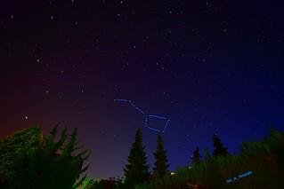 Constellation of the big wagon /// Sternenbild