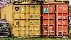 Containers (augphoto) Tags: augphotoimagery color containers metal storage joanna southcarolina unitedstates