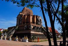 Wat Chedi Luang (BLUEPEAK19) Tags: chedi luang wat chiangmai thailand southeastasia temple indochina travelphotography buddhist dynasty buddhism buddha ancient