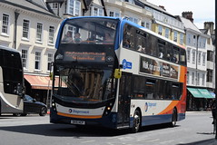 SO 10433 @ High Street, Oxford (ianjpoole) Tags: stagecoach oxfordshire alexander dennis enviro 400mmc sk15hcp 10433 working route 1 sandy lane blackbird leys speedwell street oxford