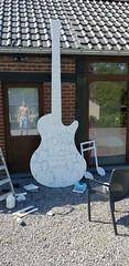 Work in progress... www.benheine.com  #art #painting #acrylic #guitar #music #people #crowd #creative #artist #foule #gens #music #rochefort #public #benheineart #benheine (Ben Heine) Tags: art crowd artist benheineart people creative guitar rochefort music gens foule public painting acrylic benheine