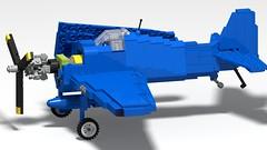 Lego F6F-5 Hellcat - 02 (Lt. SPAZ) Tags: grumman f6f hellcat wwii aviation lego airplane military fighter allies us navy plane aircraft