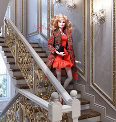 Go down the stairs (RockWan FR) Tags: downthestairs finley nuface integritytoys fashionroyalty
