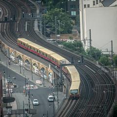 S-Bahn (Håkan Dahlström) Tags: 2018 berlin commute commuters commuting germany photography sbahn tracks train travel xt1 f67 160sek xc50230mmf4567ois cropped 4105072018055833 mitte de creative commons cc