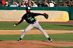 ON THE MOUND (MIKECNY) Tags: pitch pitcher throw vermontlakemonsters minorleague nypennleague baseball as