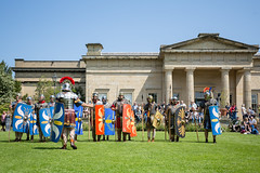 2016-06-05 - 20160605-018A8181 (snickleway) Tags: roman yorkshire museumgardens yorkromanfestival canonef1740mmf4lusm historicalreenactment park soldier york england unitedkingdom gb