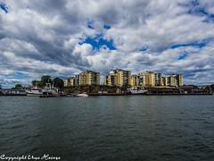 Karlskrona  072018 01 (U. Heinze) Tags: schweden sverige sweden wasser wolken sky olympus 1240mm karlskrona blekinge
