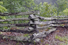 The Old Fence (rschnaible) Tags: table rock state park south carolina outdoor landscape the fence texture