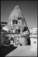 (Jerry501) Tags: landscape travel turkey goreme cappadocia 35mm summaron m4 leica kodak stone blackandwhite bw film