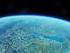 Checkmate, flat earthers! 😉 (matthias.kaegi) Tags: swiss schweiz bodensee spaceballoon ballon gopro planet erde earth stratosphere
