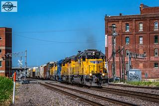 Eastbound UP Yard Job Train at Kansas City, MO