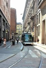 Eurotram Linea 15 - 7011  fermo al capolinea di via Dogana (Duomo) e diretto alla località di Rozzano (Matteo fromMI) Tags: atm milano tram linea15