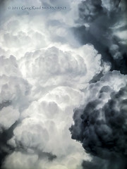 Boiling Cumulus 2011_01 (Greg Reed 54) Tags: cumulus thunderstorm thunderstorms rain cloud clouds flight aviation weather storm storms