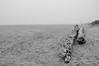 Misty beach (robjvale) Tags: d3200 beach sand sky sun hammonasset nikon