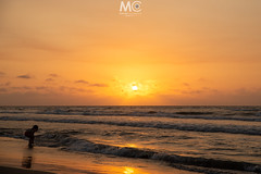 A new hope (Mariano Colombotto) Tags: bocagrande cartagenadeindias cartagena colombia beach playa sunset atardecer sun sol summer sky tones colours sea mar boy chico horizon travel ngc