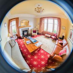 Craiglinnhe House (Courtarro) Tags: ballachulish hdr scotland fisheye