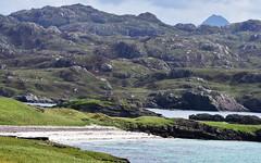 Highlands 1 (orientalizing) Tags: atlantic atlanticocean beach coast desktop featured highlands isleofhanda landscape rocky roughcilicia scotland shore