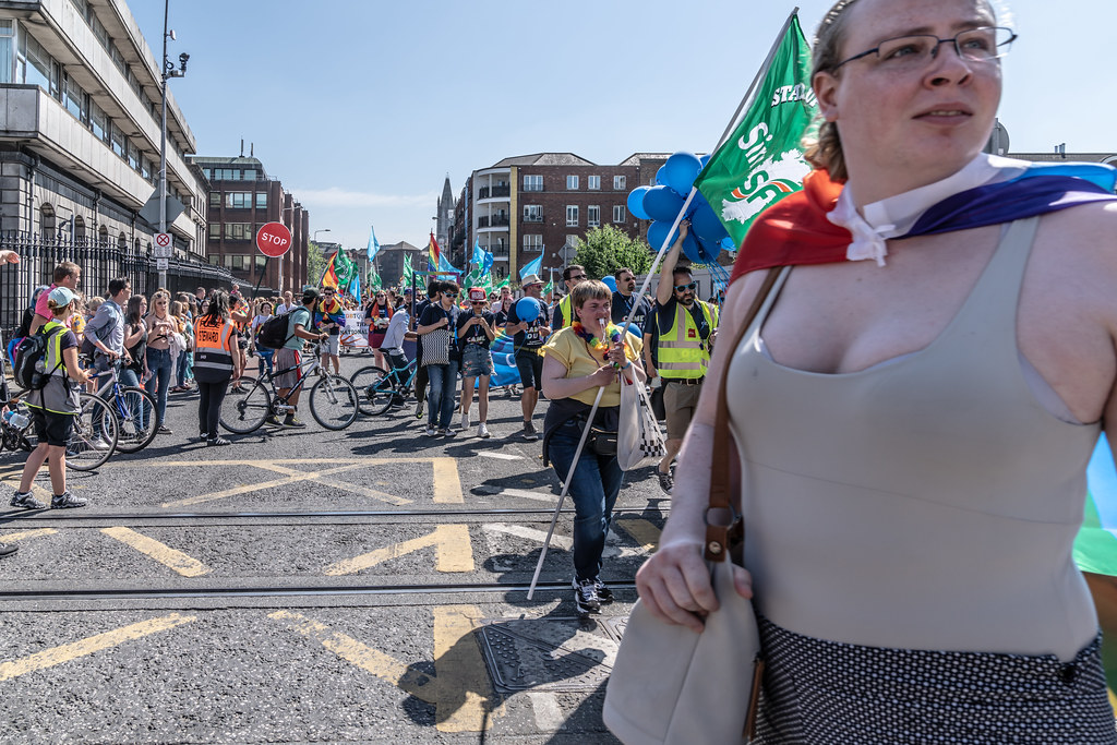 ABOUT SIXTY THOUSAND TOOK PART IN THE DUBLIN LGBTI+ PARADE TODAY[ SATURDAY 30 JUNE 2018] X-100084
