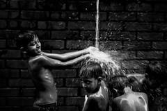 Blessing (A. adnan) Tags: rain water shower friends friend bangladesh chittagong moment kid children slumchildren poverty poor bw monochrome street streetphotography sonyartisan sonybangladesh sonyalpha sonya7riiii sony a7riii a7r3