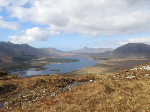 upland and lowland blanket bog Connemara