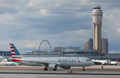 American Airbus at KLAS (Alaskan Dude) Tags: travel las klas mccarren mccarreninternationalairport planespotting airplanes airliners airliner aviation planewatching
