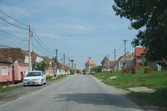 imgp9944 (Mr. Pi) Tags: houses village church fortress romania ontheroad cata cața