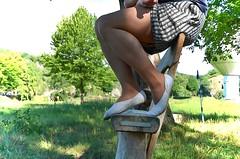 S piškotama na výletě (034) (Merman cvičky) Tags: balletslippers ballettschläppchen ballet slipper ballerinas slippers schläppchen piškoty cvičky ballettschuhe ballettschuh punčocháče pantyhose strumpfhosen strumpfhose tights collants medias collant socks nylons socken nylon spandex elastan lycra