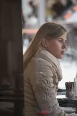 Blond (if you insist) Tags: smoker addict nicotine candid cigarette exhale eurosmoke smoking blond