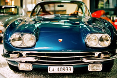 Lamborghini GT400 (mkk707) Tags: film wwwmeinfilmlabde leicar7 itsaleica leicasummiluxr50mm2ndmodel11776 kodakportra800 35mmfilm manualfocuslens manualfocusing vintagefilmcamera vintagelens leica vintagecar oldtimer coupe technikmuseum sinsheim germany germancameras