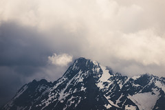 Shrouded in Clouds (Noah L. Photography) Tags: landscape mountain peak teton grand cloudy cloud grandtetonnationalpark national park wyoming jackson lake