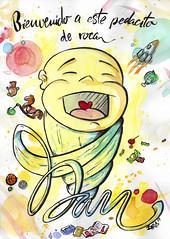 DAN (Ziro Pictures INK) Tags: illustration ilustración drawing dibujo acuarela watercolor present gift baby pentel ziropicturesink graphicdesign diseñográfico art arte