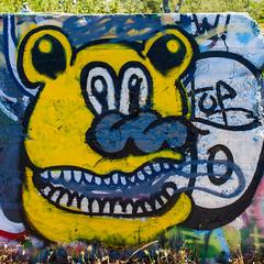 It's the Same as the Same Sad Echo Around Here (Thomas Hawk) Tags: america california eureka humboldtcounty humboldtgasworks northerncalifornia usa unitedstates unitedstatesofamerica abandoned graffiti fav10