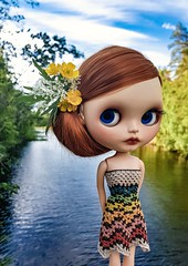 "Looks like its gonna be a beautiful day ☀️🌼💙🌼☀️ #blythe #customblythe #doll #customdoll #liccabody #crochet #crochetdollclothes #crochetblytheclothes • <a style=""font-size:0.8em;"" href=""http://www.flickr.com/photos/142495299@N04/29042501578/"" target=""_blank"">View on Flickr</a>"