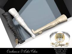 Overknees Latex (oOHolyBeatOo) Tags: sl secondlife hb design fashion mesh shoes boots overknees latex