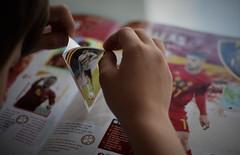 El 204 (esterc1) Tags: fútbol cromos manos niño smileonsaturday footballfever 7dwf