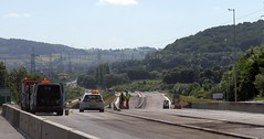 gilwern to brynmawr a465 heads of the valleys road dualling june 2018 n (Dskies) Tags: road building construction major works tarmac bridges wlaes wales june sunny