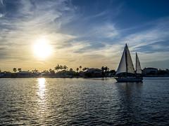 Sunset (LonaKot) Tags: florida holidays beach sea dusk landscape nature