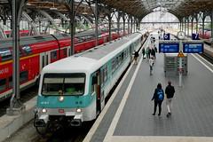 P1620220 (Lumixfan68) Tags: eisenbahn züge triebwagen baureihe 628 dieseltriebwagen deutsche bahn db regio museum hel historische lübeck hbf