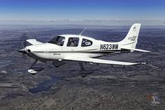 Prineville Reservoir - Deschutes County, OR  USA (Baron von Speed) Tags: airtoair bend c2a cirrus formationclinic kbdn oregon ©baronvonspeed2018 n623wm sr22 3i9a1429edit prinevillereservoir bowmandam