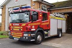 Humberside - YJ13GOK - Bridlington - DH10P1 - WrL (matthewleggott) Tags: humberside fire rescue service engine appliance scania emergency one yj13gok bridlington water ladder wrl