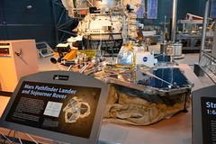 NASM_0108 Mars Pathfinder Lander and Sojourner Rover (kurtsj00) Tags: nationalairandspacemuseum nasm smithsonian udvarhazy