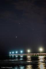 Semaphore Stars 3 (Helen C Photography) Tags: semaphore beach stars astro night evening lights adelaide south australia twilight nikon d610 50mm