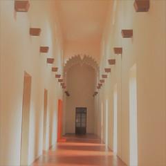 corridor in morning light (msdonnalee) Tags: corridor passageway hallway museum mexico messico mexique mexiko queretaro