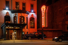 Chicago, IL - 1/29/18 - #365 (joefgaylor) Tags: chicago illinois city cityscape steakhouse mob classiccar restaurant loop night nighttime neonsign neon neonlight neonlights neonsigns sign signage signgeeks