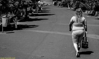 De paseo. 02. Arrecife, Lanzarote, junio 2007.