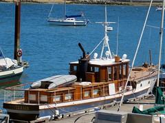 Mysterion (Stirrett6) Tags: boat pleasure vancouverbc vintage
